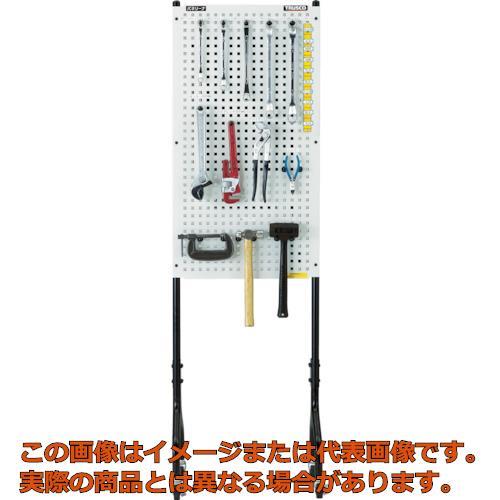 TRUSCO ライトパンチングパネル パネリーナ両面式 キャスター付 TUR2C