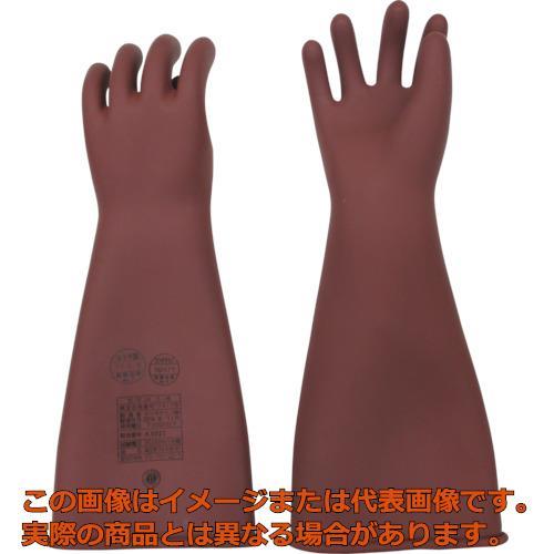 YOTSUGI 高圧ゴム手袋 455MM 中 YS1012201