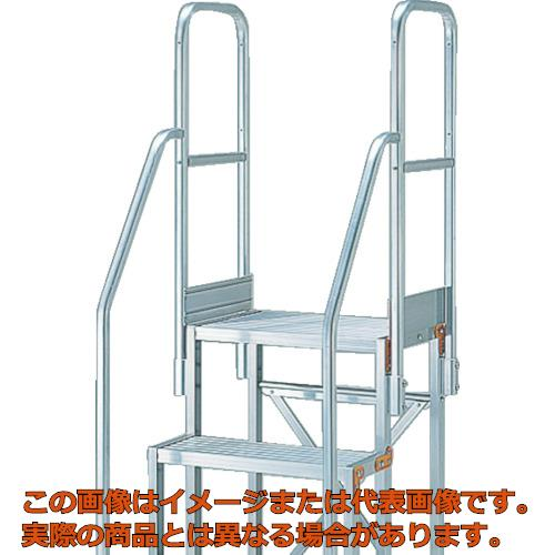 【おトク】 【き・配送日時指定】 TRUSCO 作業用踏台用手すり H1100 階段両手すり TSF−256・26 TSFTE1711H:工具箱 店-DIY・工具