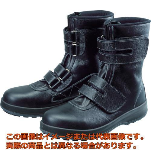 シモン 安全靴 長編上靴 マジック WS38黒 26.0cm WS3826.0