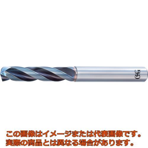 OSG 超硬油穴付き3枚刃メガマッスルドリル3Dタイプ 8661020 TRSHO3D10.2