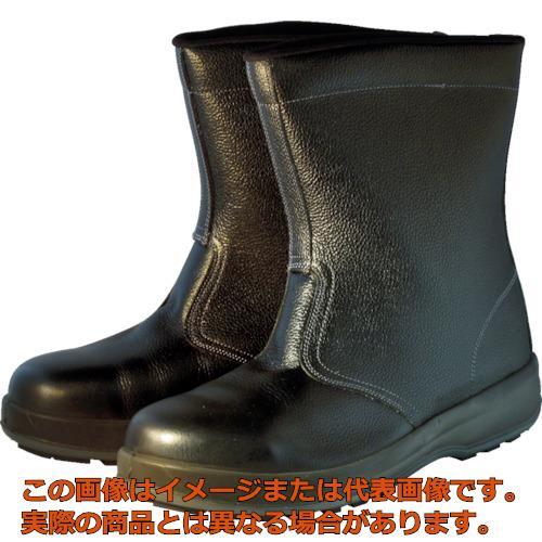 シモン 安全靴 半長靴 WS44黒 26.5cm WS44BK26.5