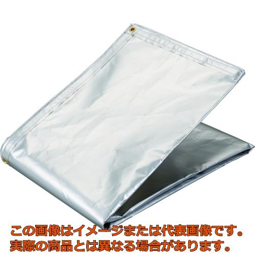 TRUSCO アルミ蒸着塩ビ遮熱シート 1.8×3.6M TRSPC1836