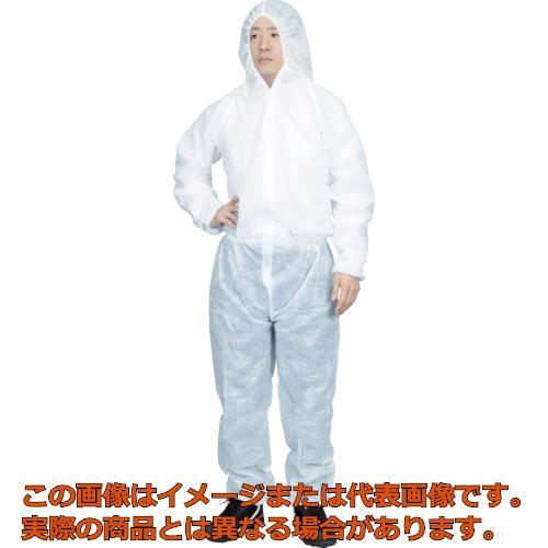 TRUSCO まとめ買い 保護服(1層タイプ) XXLサイズ  (50着入) TPSB-XXL