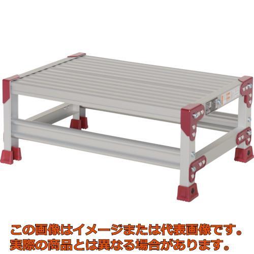 【代引き不可・配送日時指定不可】 ピカ 作業台 ZG型 1段 幅60cm高さ25cm ZG1625