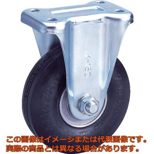 カナツー ゼロプレッシャータイヤ 固定金具付 荷重156.9 ZPW10X2.75MSBK