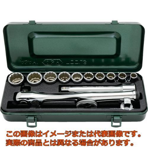ASH レボウェイブソケットレンチセット12.7□×14PCS VO4200