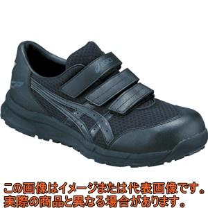 アシックス ウィンジョブCP202 ブラックXブラック 27.5cm FCP202.909027.5