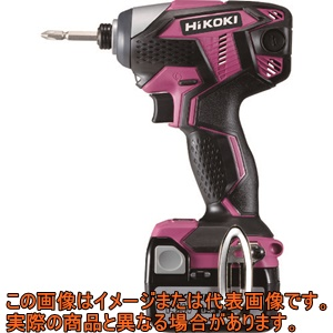 HiKOKI 14.4Vコードレスインパクトドライバ レッド WH14DKL2LSCKR