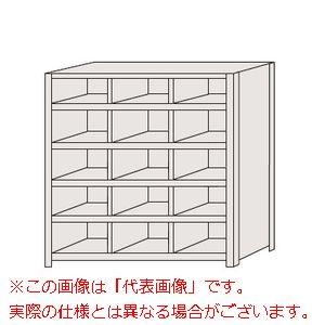 区分棚 棚板フラットタイプ・100kg/段・3列 NCA711-305【配送日時指定不可・個人宅不可】