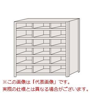 区分棚 棚板フラットタイプ・100kg/段・3列 NCA710-306【配送日時指定不可・個人宅不可】