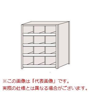 区分棚 棚板コボレ止め付・100kg/段・3列タイプ NCC711-304【配送日時指定不可・個人宅不可】