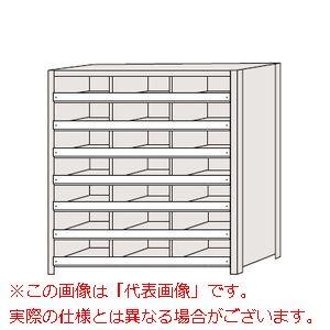 区分棚 棚板コボレ止め付・100kg/段・3列タイプ NCC710-307【配送日時指定不可・個人宅不可】