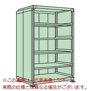 中量棚PB型パネル付(500kg/段・単体・高さ2100mm・6段タイプ) PBG-2546【配送日時指定不可・個人宅不可】
