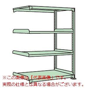 中軽量棚ML型(250kg/段・連結・高さ1500mm・4段タイプ) ML-9154R【配送日時指定不可・個人宅不可】