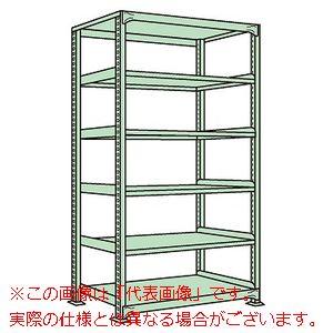 ラークラック(150kg/段・単体・高さ2100mm・6段タイプ) RL-2716【配送日時指定不可・個人宅不可】