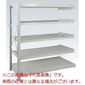 重量棚NR型(1000kg/段・連結・高さ1510mm・5段タイプ) NR-9555R【配送日時指定不可・個人宅不可】