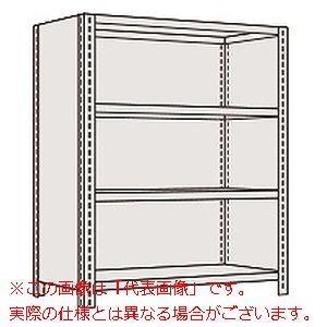 物品棚LE型(120kg/段・高さ1500mm・4段タイプ) LWE9544【配送日時指定不可・個人宅不可】