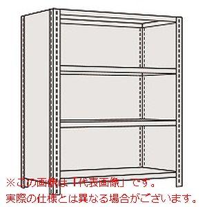 物品棚LE型(120kg/段・高さ1200mm・4段タイプ) LWE8744【配送日時指定不可・個人宅不可】