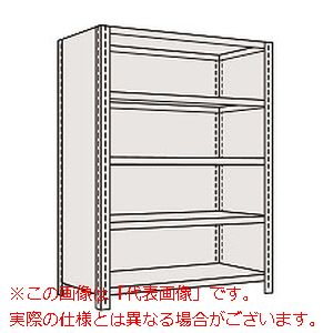 物品棚LE型(120kg/段・高さ1200mm・5段タイプ) LE8715【配送日時指定不可・個人宅不可】