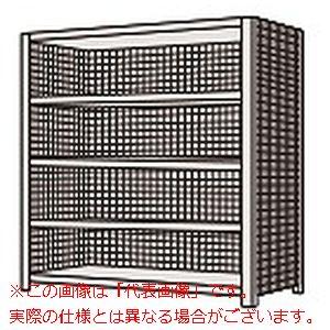物品棚LK型(120kg/段・高さ2100mm・5段タイプ) LK2525【配送日時指定不可・個人宅不可】