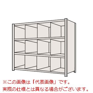物品棚LJ型(120kg/段・高さ1200mm・4段タイプ) LJ8724【配送日時指定不可・個人宅不可】