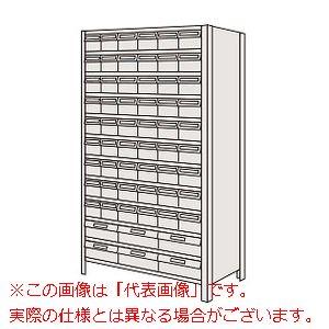 物品棚LEK型樹脂ボックス(100kg/段・高さ1800mm・12段タイプ) LEK1122-60T【配送日時指定不可・個人宅不可】