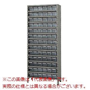 物品棚LEK型樹脂ボックス(100kg/段・高さ2100mm・14段タイプ) LEK2124-78T【配送日時指定不可・個人宅不可】