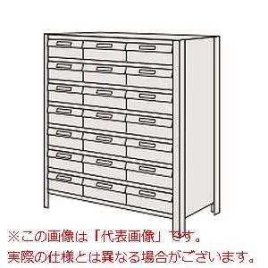 物品棚LEK型樹脂ボックス(100kg/段・高さ1200mm・8段タイプ) LEK8128-21T【配送日時指定不可・個人宅不可】