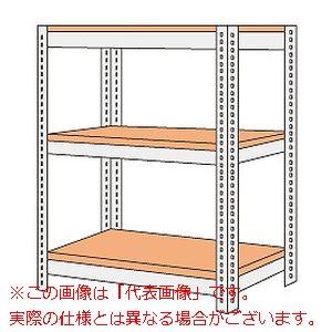 ボード棚(ボルト止めタイプ)(200kg/段・高さ1200mm・3段タイプ) NBRW-8543【配送日時指定不可・個人宅不可】
