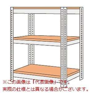 ボード棚(ボルト止めタイプ)(200kg/段・高さ1200mm・3段タイプ) NBRW-8563【配送日時指定不可・個人宅不可】