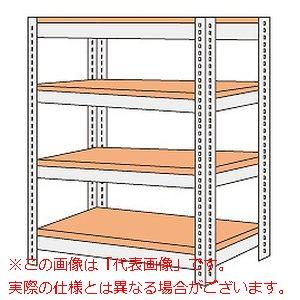 ボード棚(ボルト止めタイプ)(200kg/段・高さ1800mm・4段タイプ) NBRW-1724【配送日時指定不可・個人宅不可】