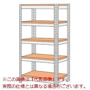 ボード棚(ボルト止めタイプ)(200kg/段・高さ1800mm・5段タイプ) NBRW-1745【配送日時指定不可・個人宅不可】