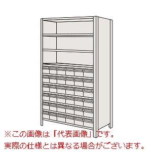 【即発送可能】 物品棚LEK型樹脂ボックス(100kg/段・高さ1800mm・10段タイプ) LWEK1110-36T【配送日時指定・個人宅】, e-mono plus:35dabc7f --- beautyflurry.com