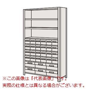 物品棚LEK型樹脂ボックス(100kg/段・高さ1800mm・10段タイプ) LWEK1110-30T【配送日時指定不可・個人宅不可】