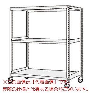 サカエ 中軽量キャスターラック NSR-8743GGJ 【代引き不可・配送時間指定不可】