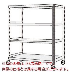 サカエ 中軽量キャスターラック NSR-8544GGJ 【代引き不可・配送時間指定不可】