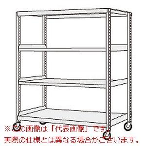 サカエ 中軽量キャスターラック NSR-8344GGK 【代引き不可・配送時間指定不可】