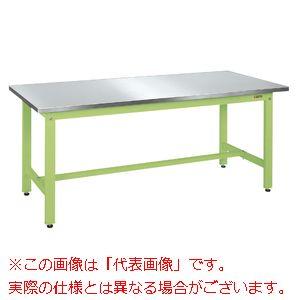 軽量作業台KKタイプ(ステンレスカブセ天板) KK-38HCSU4【配送日時指定不可・個人宅不可】