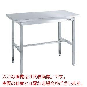 ステンレス高さ調整作業台(ステンレスカブセ天板仕様) SUT4-157HC【配送日時指定不可・個人宅不可】