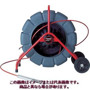 【代引き不可・配送時間指定不可】 RIDGID シースネイクレギュラーカラー100Mリール自動水平 KDR325S 13998