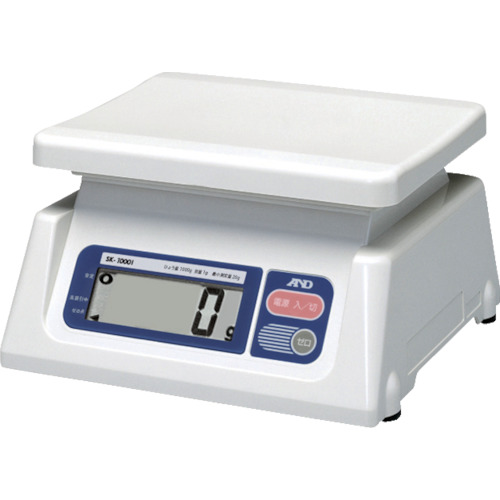 A&D デジタルはかり(検定付・4区) SK1000I-A4
