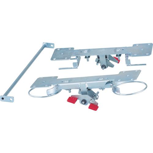 TRUSCO グランカート用リング式 自在2輪固定2輪ストッパー TP-700JKRS-4