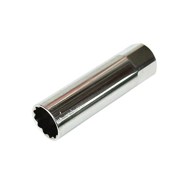 送料無料 プラグ上部を挟んで 落下を防ぐ金属クリップ式 薄型 プラグソケット 14mm 16mm スパークプラグソケット クリップ式 12ポイント 3 本店 スパークプラグ脱着 プラグレンチソケット 輸入 9.5mm 代引不可 8インチ プラグ交換 差込角