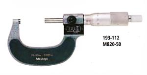 【送料無料】 ミツトヨMitutoyo 193シリーズカウント外側マイクロメータM820-100