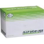 日本製紙クレシア カウンタークロス 薄手タイプ グリーン 65411 1ケース