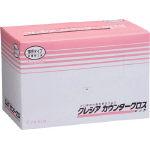 日本製紙クレシア カウンタークロス 薄手タイプ ピンク 65421 1ケース