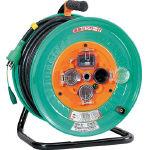 【送料無料】日動  電工ドラム 防雨防塵型100Vドラム アース漏電しゃ断器付 30m NPW-EB33