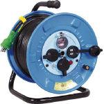 【送料無料】日動  電工ドラム 防雨防塵型100Vドラム アース過負荷漏電しゃ断器 30m NPW-EK33