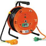 【送料無料】日動 電工ドラム びっくリール 100V アース漏電しゃ断器付 30m NL-EB30S